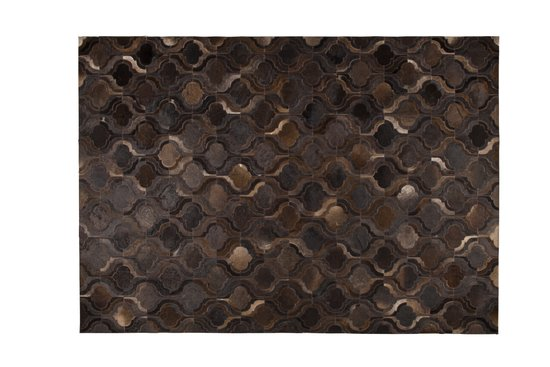 dutchbone bawang vloerkleed donker bruin 170 x 240 cm