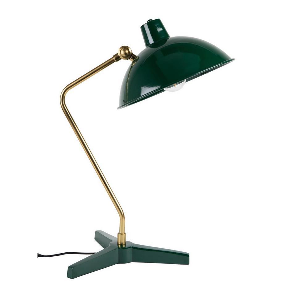 dutchbone devi tafellamp groen