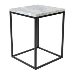 zuiver marble power side table