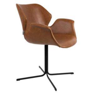 zuiver nikki armchair all brown