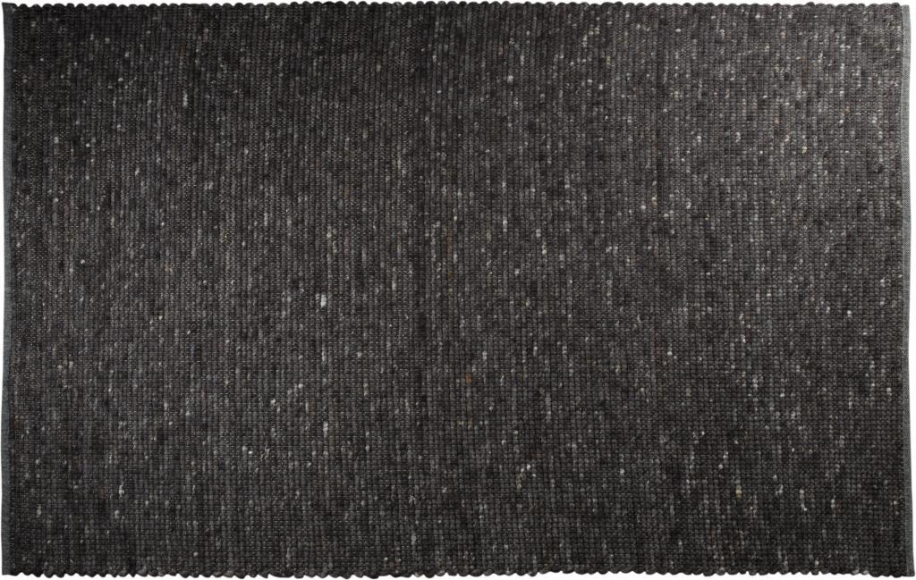 zuiver pure vloerkleed antraciet 200 x 300 cm