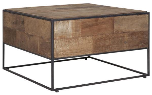 D-Bodhi Salontafel Urban Teak Metaal 60x60 cm