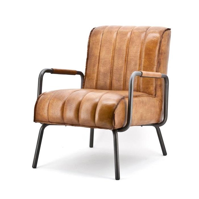 eleonora marvin fauteuil cognac