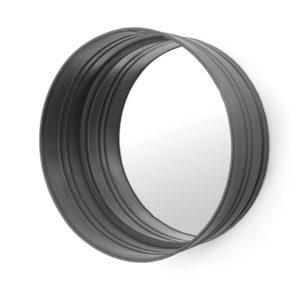 by boo spiegel rond 40 cm zwart