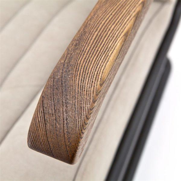 eleonora arthur fauteuil beige arm