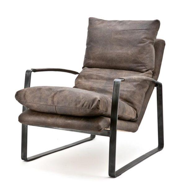 eleonora lex fauteuil donkerbruin