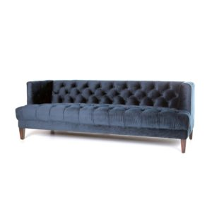 eleonora vogue bank blauw velvet