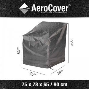 Aerocover Loungestoelhoes 75x78x65-90cm hoge rug