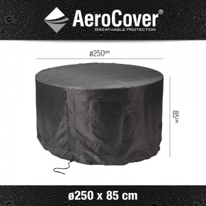 Aerocover Tuinmeubelhoes tuinset rond Ø250xH85 cm
