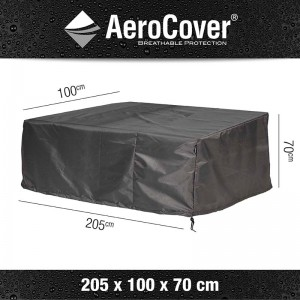 Aerocover loungesethoes Loungebank 205x100x70 cm