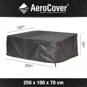 Aerocover loungesethoes Loungebank 250x100x70 cm