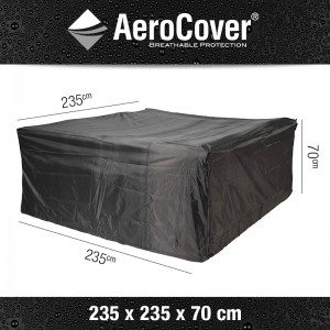 Aerocover loungesethoes Vierkant 235x235x70 cm 7933