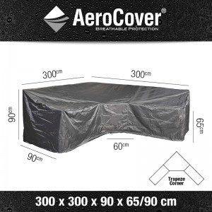 Aerocover Loungesethoes L-Shape 300x300x90x65/90 7957