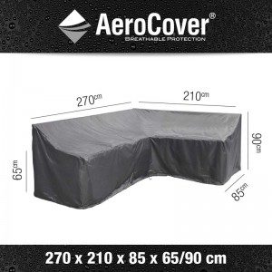 Aerocover Lounge-Dininghoes Rechts 270x210x85x65/90 7991