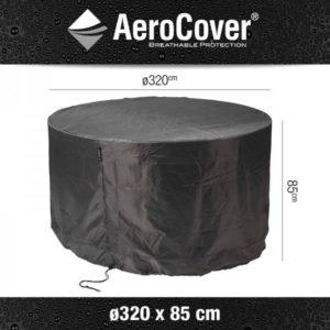 Aerocover tuinmeubelhoes tuinset rond Ø320xH85 cm 7917