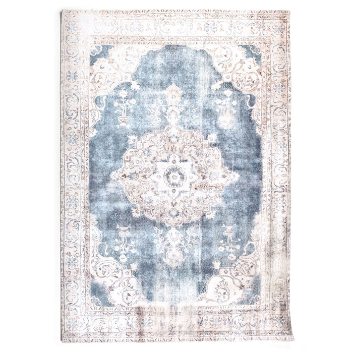 By boo florence vloerkleed 200 x 290 cm beige-blauw