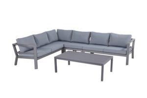 Hartman Cannes Loungeset Seal Grey