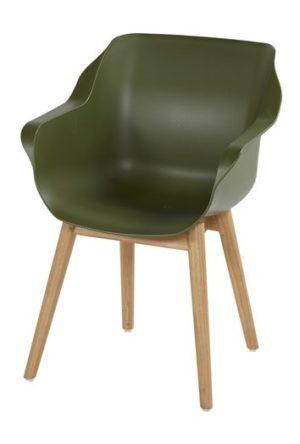Hartman Tuinstoel Sophie Studio Teak Moss Green