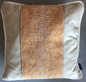 Madison Sierkussen 50x50 cm Cork Stripe
