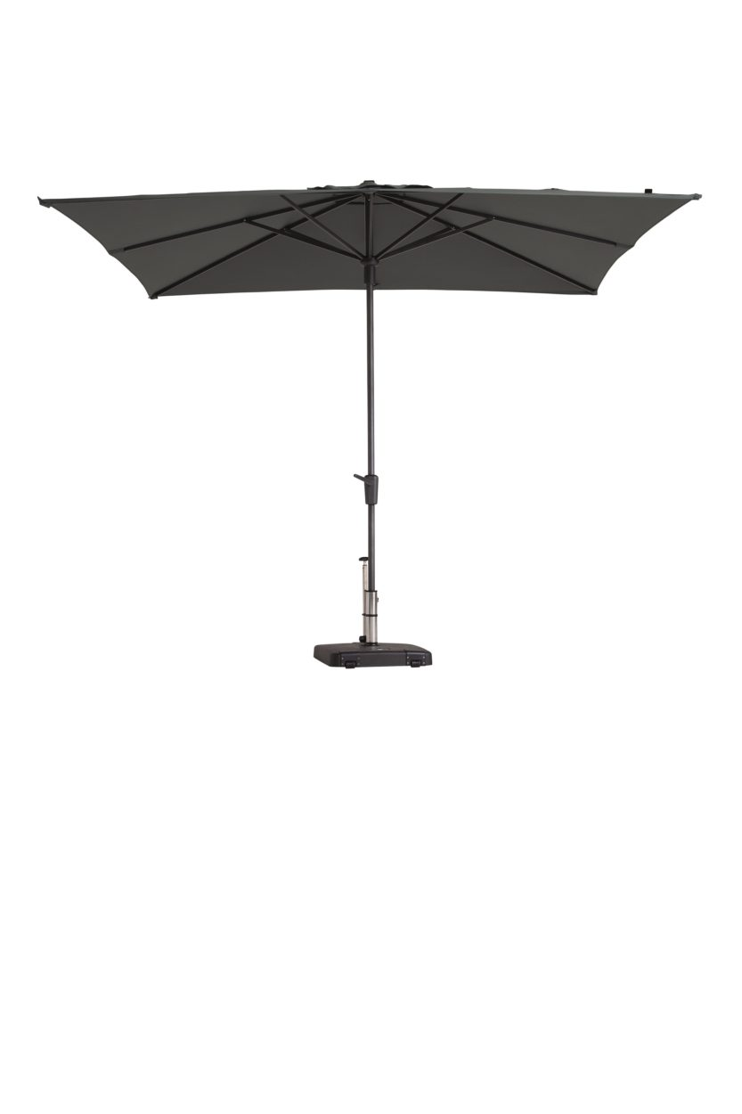 Madison parasol Syros 280x280 Grey