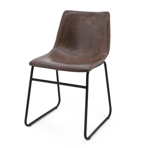 by boo logan stoel donker bruin