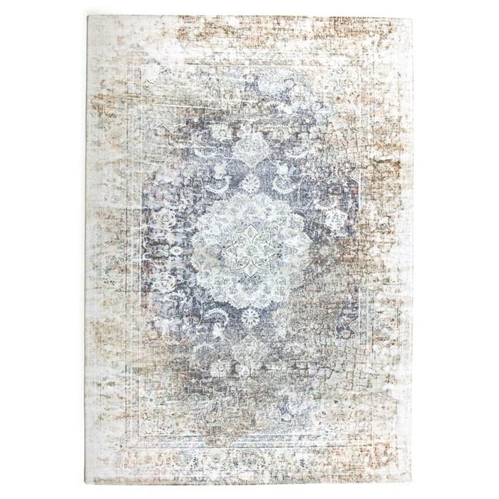 by boo venice vloerkleed beige-grijs 200 x 290 cm