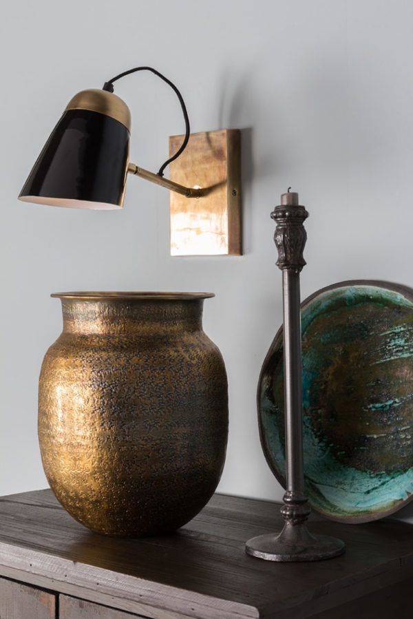 dutchbone old school wandlamp sfeer