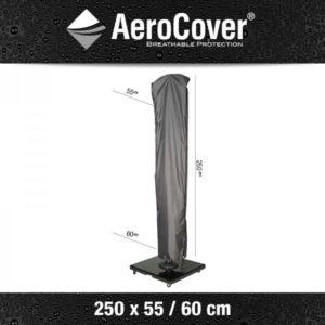 Aerocover Parasolhoes Zweefparasol 250x55/60cm 7970