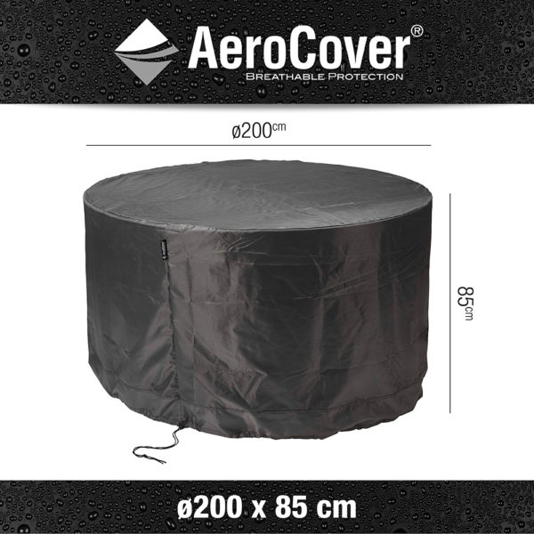Aerocover Tuinsethoes rond 200 H85 cm
