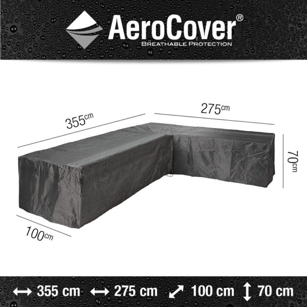 Aerocover Loungesethoes 355x275x100x70 Rechts 7949