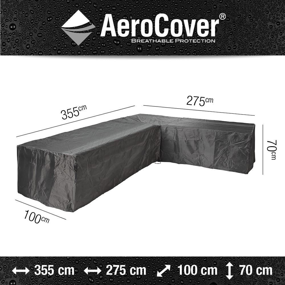 Aerocover loungesethoes hoekset 355x275x100x70 links