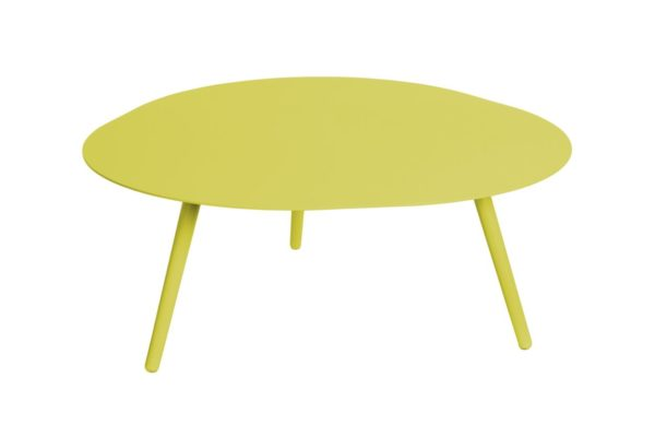 Beach 7 Smile Salontafel Aluminium Lime 90 cm