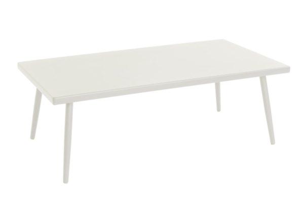 Beach 7 Tuintafel Coppa Aluminium 160x90 cm White