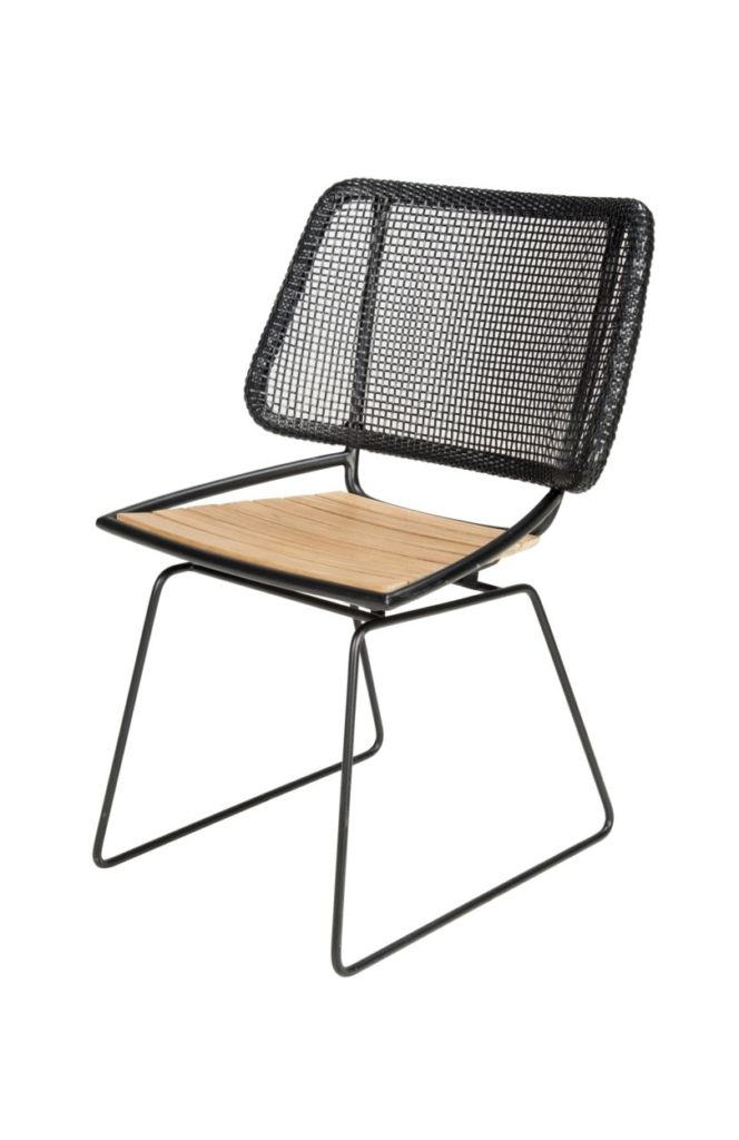 Beach 7 Tuinstoel Ep Teak Black Wicker