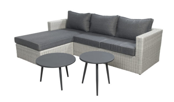 Beach 7 Loungeset Lazy Sydney Multi Grey 4-Delig