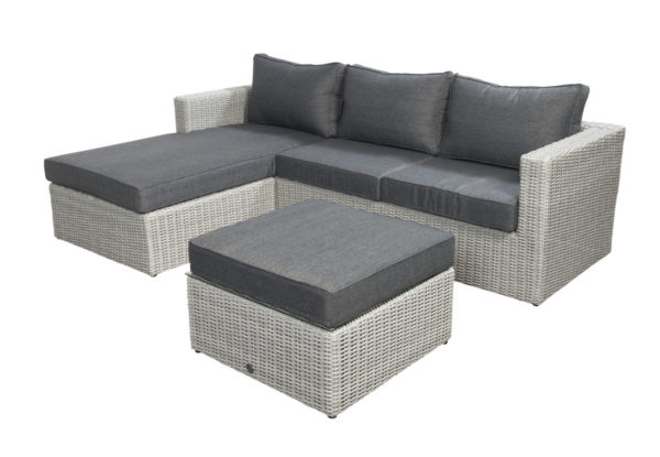 Beach 7 Loungeset Lazy Sydney Multi Grey 3-Delig