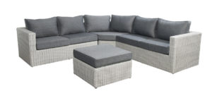 Beach 7 Loungeset Sydney Trapeze Multi Grey 270x270cm