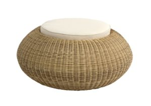 Beach 7 Ottomano Pouf 90 cm Nature