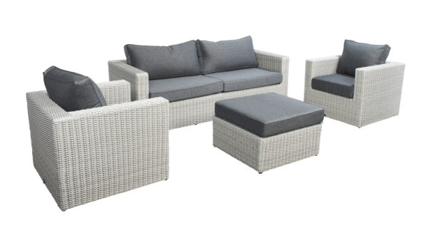 Beach 7 Lounge Sofaset Sydney Multi Grey