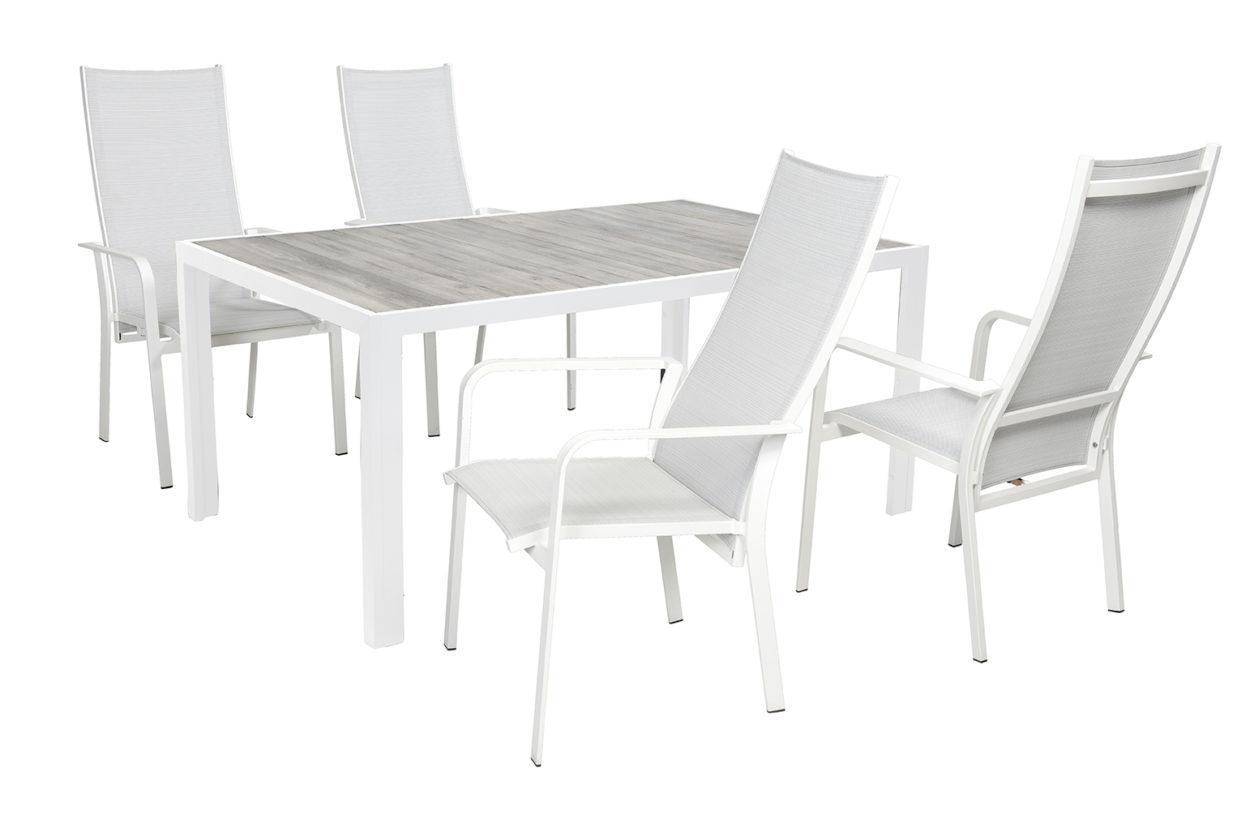Beach 7 Tuinset Beatle Verstelbaar + tafel Tanger 168x105 cm