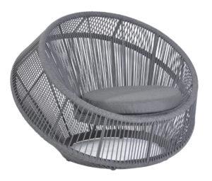 Borek Monsaraz lounge chair Ardenza rope 4410 dark grey