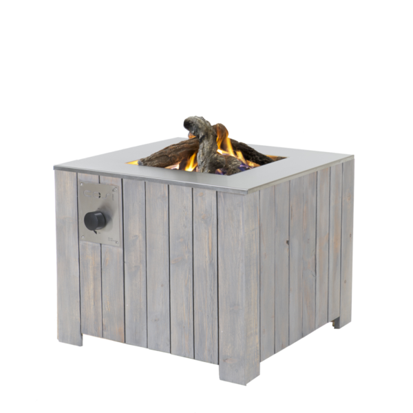 Cosi Fires Buitenhaard Cosicube 70 Grey Wash