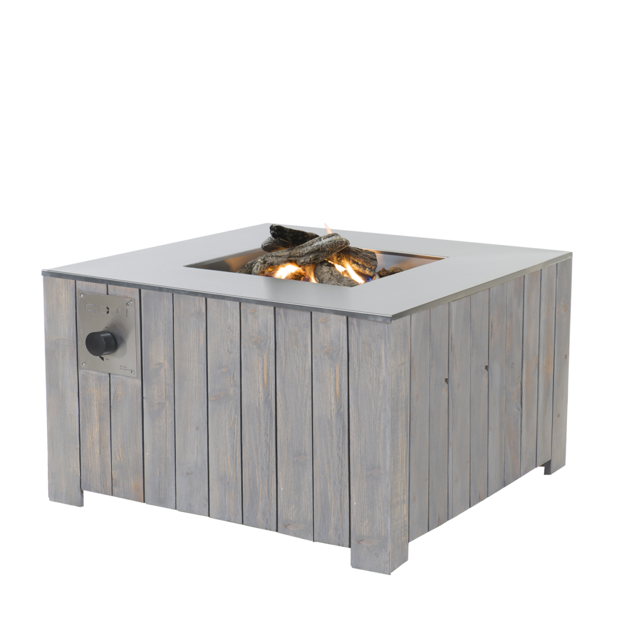 Cosi Fires Cosicube 95 Buitenhaard Grey Wash
