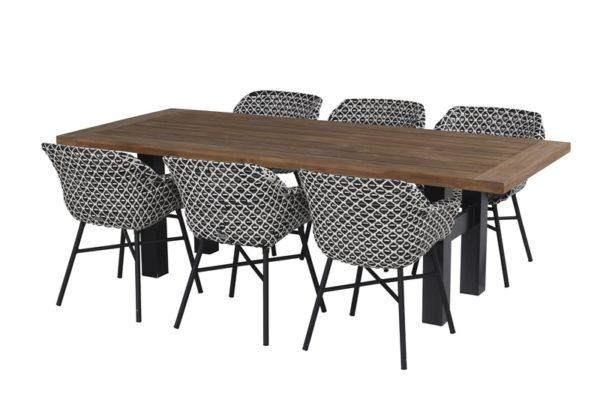 Hartman Tuinset Delphine + tafel Yasmani 240