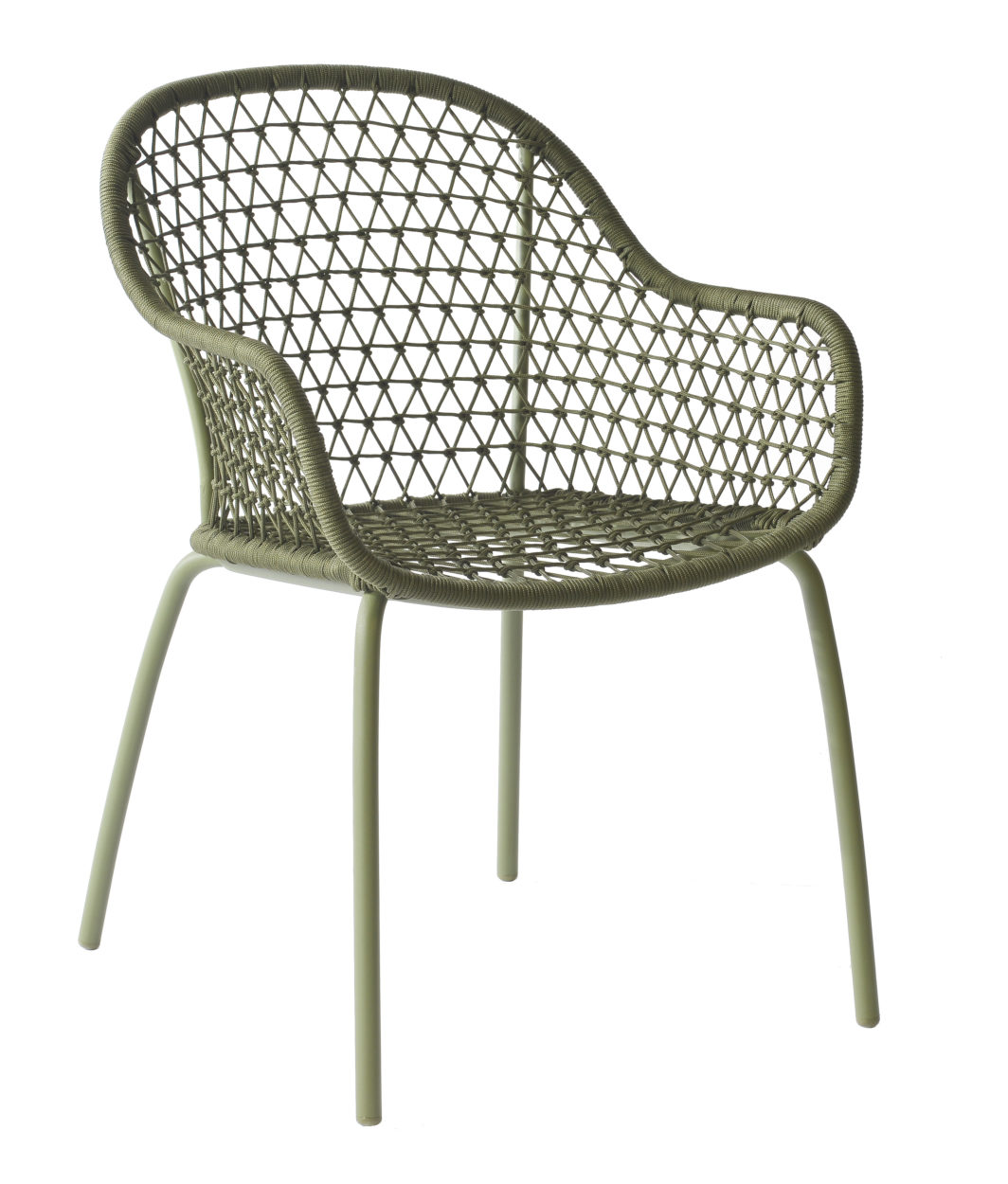 Max & Luuk Anna chair Rope M4050 moss