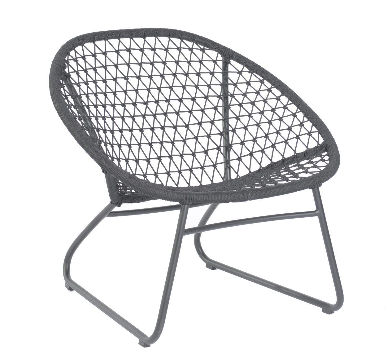 Max & Luuk Bella Rope occasional chair M4052 lava