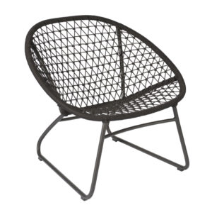Max & Luuk Occasional Chair Bella Rope Espresso