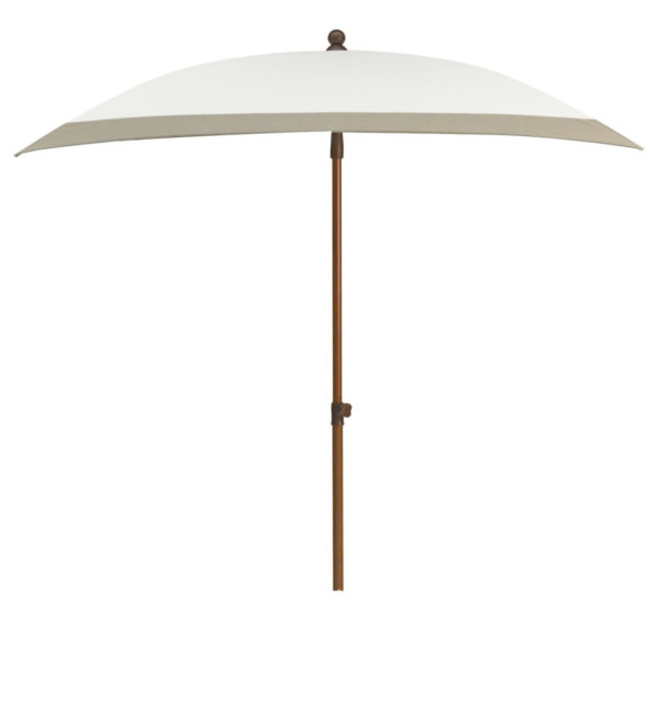 Max & Luuk Parasol Beach 240x150 Wit Taupe