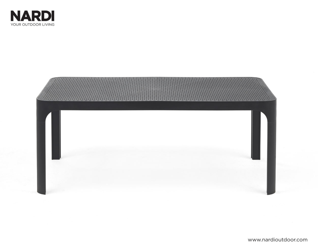 Nardi Net Table 100x60 Antraciet