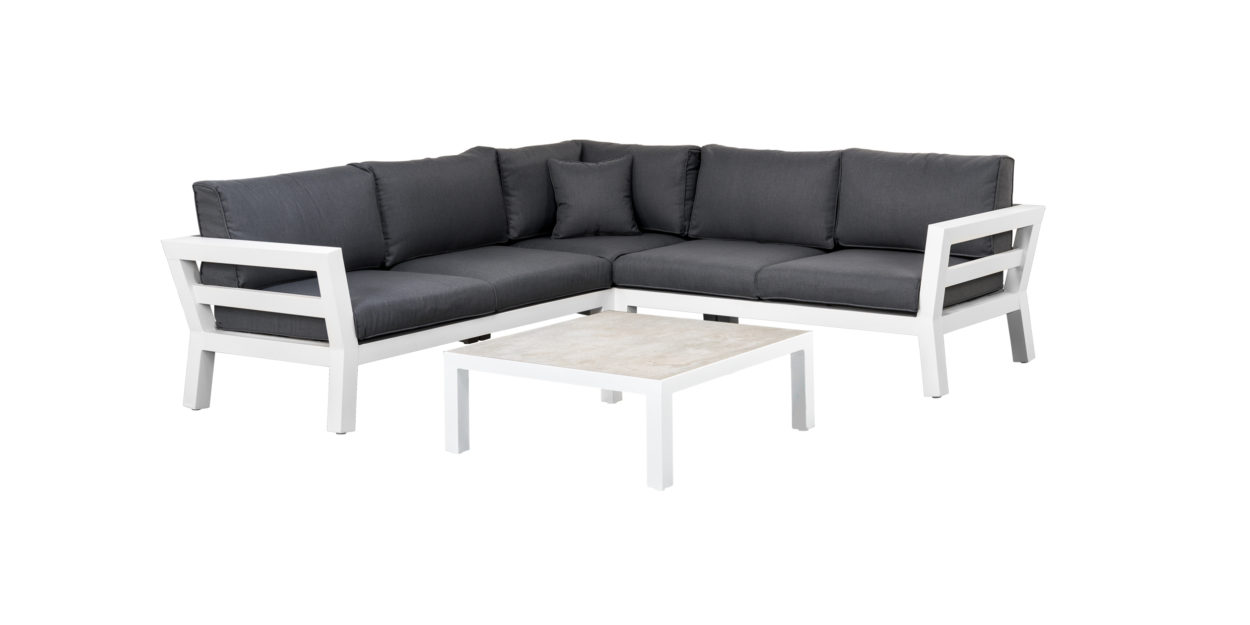 Suns Loungeset Malmo 4-Delig White